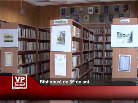 Bibliotecă de 65 de ani