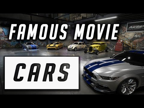 Famous Movie Cars In Need For Speed Payback - 1080pHD