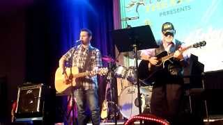 """She Even Woke Me Up To Say Goodbye,"" Johnny & Sam Foley - Wind Horse Theater, Eustis, FL (12/5/14)"