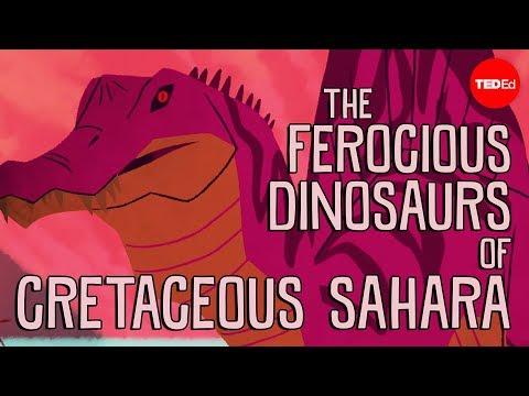 The ferocious predatory dinosaurs of Cretaceous Sahara – Nizar Ibrahim