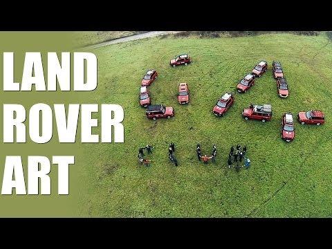 Schools Challenge TV – Land Rover art