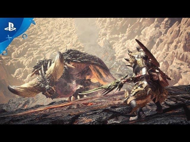 Street Fighter V: Arcade Edition, Monster Hunter: World, and