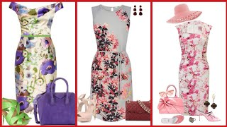 Beautiful Stylish And Trendy Designer Floral Print Bodycon Dresses 2020