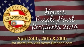 Branson com Honors Purple Heart Recipients 2014 Video