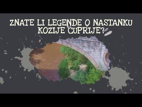 Koje legende se vezuju za čuvenu Koziju ćupriju