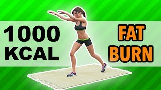1000 Calories Workout: Best Fat Burn Exercises At Home