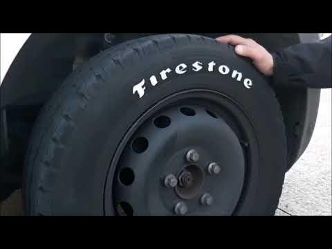 Pintar neumáticos con rotulador