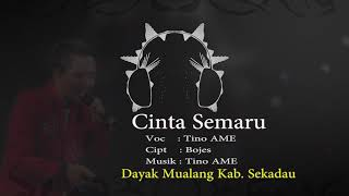 CINTA SEMARU - Tino AME    Lagu Dayak Mualang Sekadau (Cover)