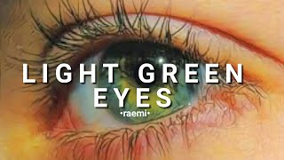 Perfect Light Green Eyes ༄ 2 DAYS ༄ ⚠️ LISTEN ONCE ⚠️ subliminal