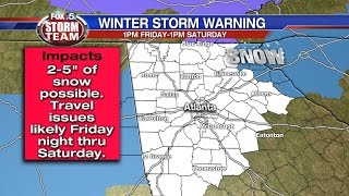 Winter Storm Warning update - 1/5/17 - 8:55 p.m.