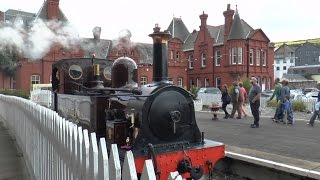 preview picture of video 'Douglas to Port Erin Isle of Man Steam Railway August 2014'