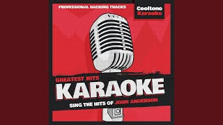 Long Hard Lesson Learned (Originally Performed by John Anderson) (Karaoke Version)