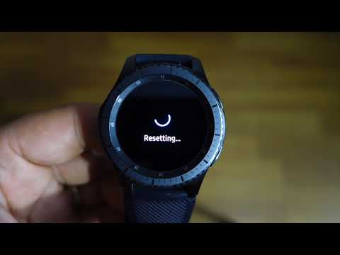 How to master reset Gear S3 with hardware keys - restore original factory settings