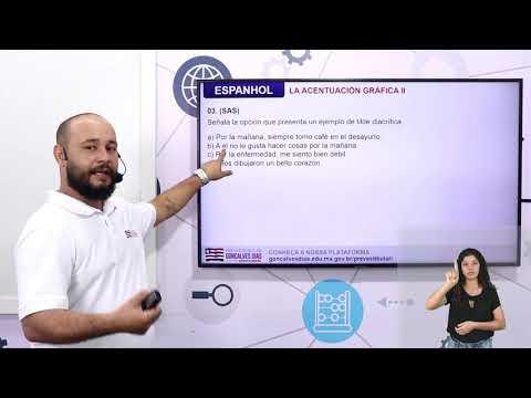 Aula 08 | La Acentuación Gráfica II - Parte 03 de 03 - Exercícios Resolvidos - Espanhol