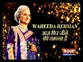 Veteran actress Waheeda Rehman turns wildlife photographer - Video