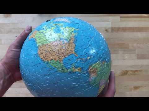 Earth Puzzle Ball Build | Hangar77