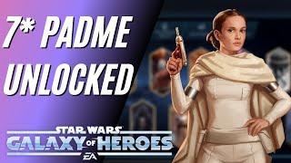 7 Star Padme Legendary Unlock W/ Geos! Legendary Event I SWGOH