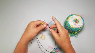 Casting on two socks at a time using one circular needle