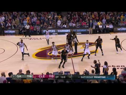 San Antonio Spurs at Cleveland Cavaliers-  January 21, 2017