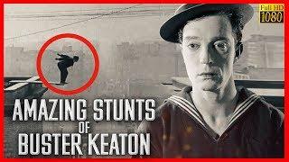 AMAZING stunts of Buster KEATON / Best of Buster Keaton HD