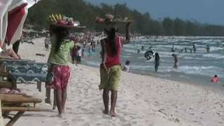 preview picture of video 'CAMBODIA 2007 ក្រុងព្រះសីហន Sihanoukville Beach'