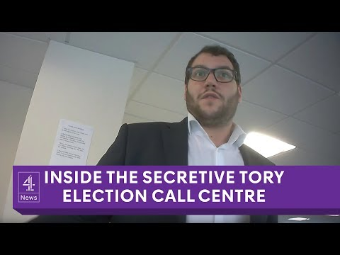 Revealed: Inside the secretive Tory election call centre