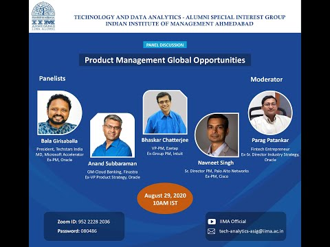 "Panel Discussion on ""Product Management Global Opportunities"""
