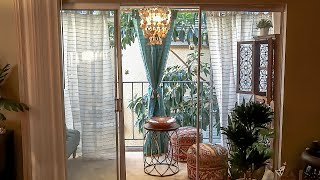 Balcony Makeover - Decorating On A Budget