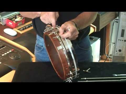 Recording King Banjos Bridge Installation (full) - смотреть