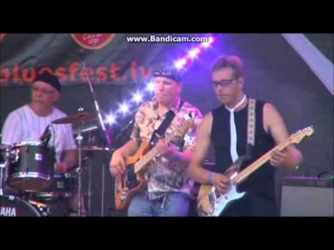 Louie Digman & Blueshound - Sigulda Blues 2014