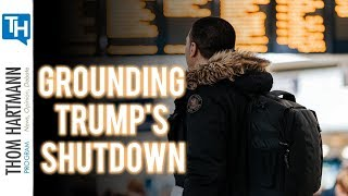 How the TSA Could Ground Government Shutdown (w/Joe Madison)