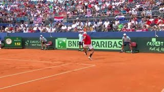 La 'vecchia' Coppa Davis continua a dare spettacolo