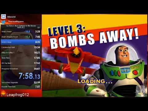 [WR] Toy Story 2: Buzz Lightyear to the Rescue PC 100% Speedrun - (55:08)