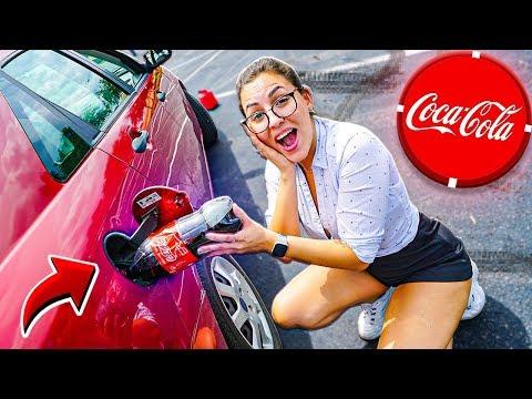 O que acontece se você colocar Coca Cola no carro?