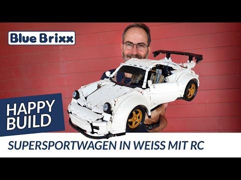 Supersportwagen in weiß