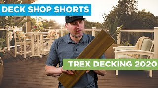 Trex Composite Decking 2020 Overview // Deck Shop Shorts