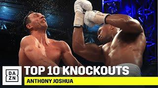 TOP 10 KNOCKOUTS | Anthony Joshua