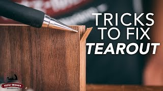 Stop Tearout - My Favorite Tips and Tricks