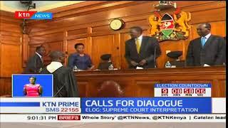 ELOG advices IEBC to seek Supreme Court's interpretation on Raila Odinga's withdrawal