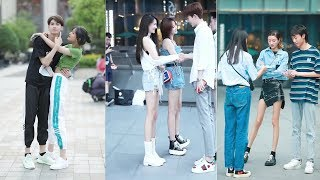 Optimal Street Fashion LONG LEGS Girls Tik Tok / DouYin IN Chian Ep.17