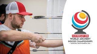 Compound finals |Yankton 2018 World Archery Indoor Championships | Kholo.pk