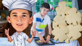 How to make Irish Shamrock Shortbreads | Johnny's Kitchen & Treats