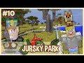 Stavíme výběh pro T-Rexe! - MINECRAFT JURSKÝ PARK #10