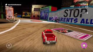 Table Top Racing : World Tour - Easter Egg - Mysterious Face