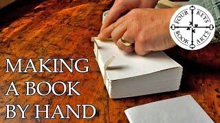 Making A Handmade Book - Part 1