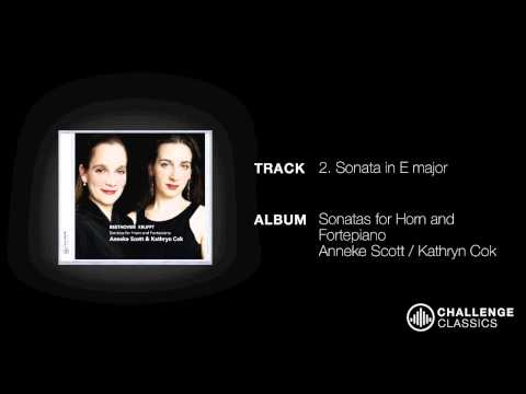 play video:Anneke Scott & Kathryn Cok; Nikolaus von Krufft - Sonates in E Major