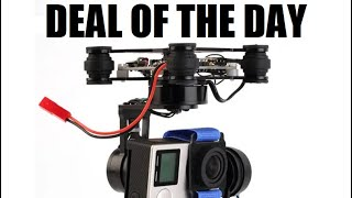 3 Axis Metal Brushless Gimbal GoPro 180g for RC Drone FPV DEAL OF THE DAY
