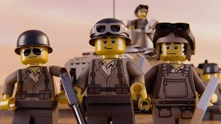 LEGO WWII NORTH AFRICA CAMPAIGN