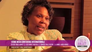 12e Mega Conférence - Interview Past. Béatrice Maluma