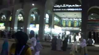 preview picture of video 'Jalan2 di sekitar King Faisal Road Medina.'